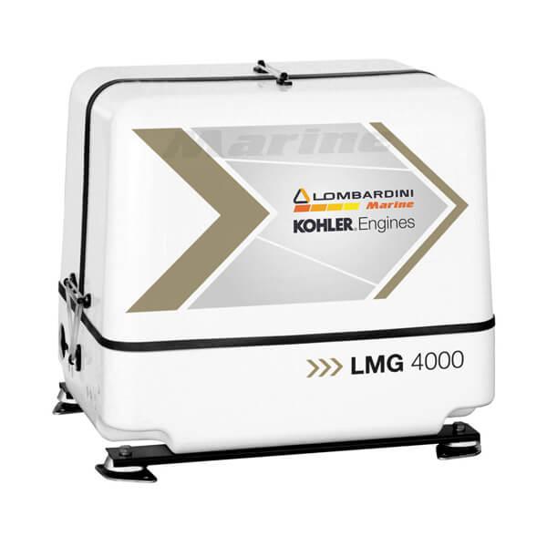 Gruppo elettrogeno lombardini LMG 4000