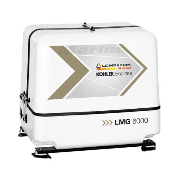 Gruppo elettrogeno lombardini LMG 6000